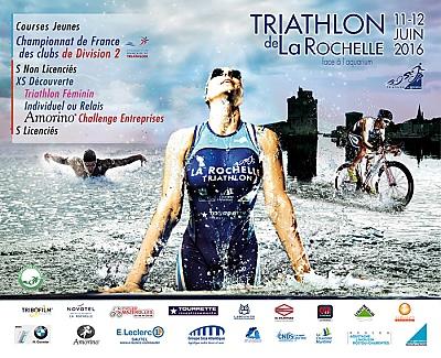 illustration de Triathlon de La Rochelle côté Vieux Port : samedi 11 et dimanche 12 juin 2016