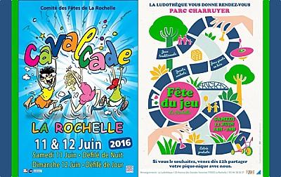 illustration de Ce week-end à La Rochelle : Fête du jeu, samedi 11 et Cavalcade les 11 et 12 juin 2016