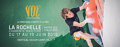 illustration de La Rochelle - Vertical Ocean Camp : grimpe DWS et jumpline les 17, 18 et 19 juin 2016