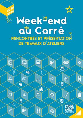 illustration de Carré Amelot La Rochelle : travaux d'ateliers, théâtre et expositions samedi 18 et dimanche 19 juin 2016