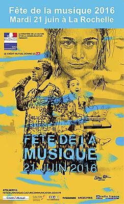 illustration de Fête de la musique à La Rochelle, mardi 21 juin 2016 !!!