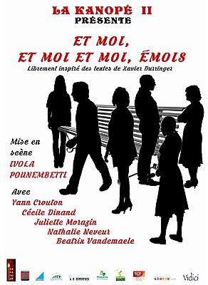 illustration de Lagord - La Rochelle Agglo : variations autour des émois par les adultes de l'atelier théâtre La Kanopé II, 1er, 2 et 3 juillet 2016