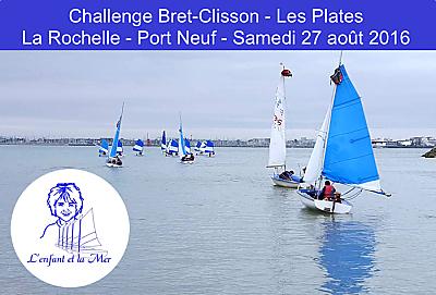 illustration de Voile pour tous à La Rochelle : challenge du club Les Plates en hommage à Albert Bret, samedi 27 août 2016