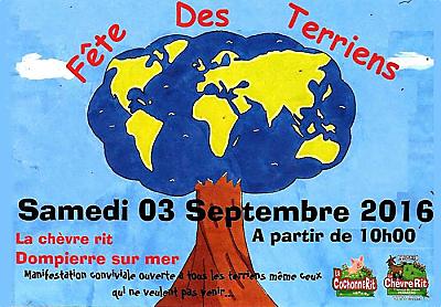 illustration de La Rochelle Agglo : fête des Terriens et marché fermier à la Chèvre Rit entre St-Xandre et Dompierre, samedi 3 septembre 2016