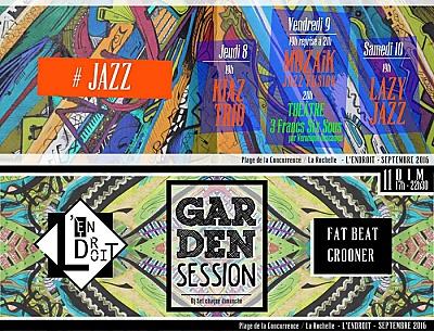 illustration de Rendez-vous à l'Endroit à La Rochelle : jazz, théâtre et Dj set du dimanche du 9 au 11 septembre 2015