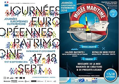 illustration de La Rochelle : les journées européennes du patrimoine 2016, samedi 17 et dimanche 18 septembre