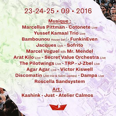 illustration de Roscella Bay Festival pratique : le programme détaillé des 23, 24 et 25 septembre 2016 au jour le jour !