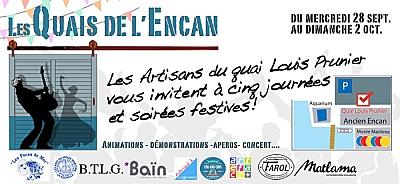 illustration de En marge du Grand Pavois de La Rochelle : RV des artisans et artistes aux quais de l'Encan du 28 septembre au 2 octobre 2016 !