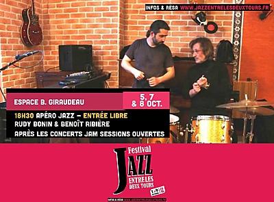 illustration de La Rochelle : apéros Jazz entre les deux Tours gratuits et jam sessions ouvertes les 5, 7 et 8 octobre 2016