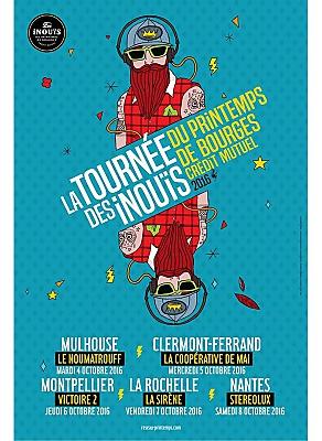 illustration de La tournée des Inouïs à La Rochelle : Set&Match, Fishbach, Nusky & Vaati et Lysistrata à La Sirène, vendredi 7 octobre 2016