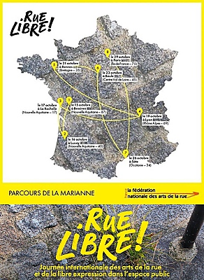 illustration de Arts de la rue à La Rochelle : journée internationale Rue libre, lundi 17 octobre 2016 17h-19h
