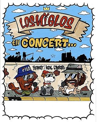 illustration de Rap, graff et Dj Set à La Rochelle : RV avec Los Niglos à l'Aiôn, jeudi 3 novembre 2016
