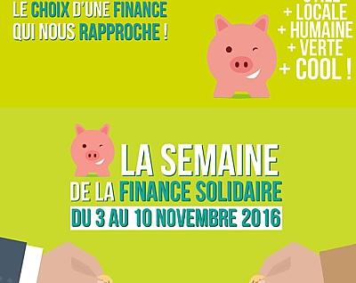 illustration de La Rochelle : les rendez-vous de la Semaine de la finance solidaire jusqu'au 8 novembre 2016