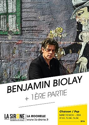 illustration de Chanson pop à La Rochelle : Benjamin Biolay à La Sirène, mardi 15 novembre 2016