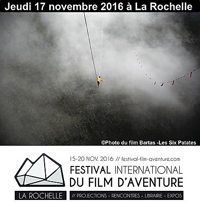 illustration de La Rochelle : au programme du Festival du film d'aventure, jeudi 17 novembre