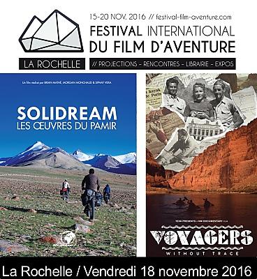 illustration de À La Rochelle : des sommets aux rivières avec le Festival du film d'aventure, vendredi 18 novembre 2016