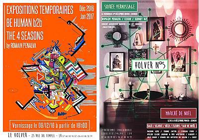 illustration de Expo et marché de Noël artistique à La Rochelle : Le Volver, galerie-appartement ouvre des portes les 9, 10 et 11 décembre 2016