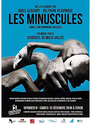 illustration de Danse à La Rochelle avec la Cie Les Clandestins et Maud Vallée, à L'Horizon les 9 et 10 décembre 2016