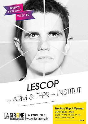 illustration de À La Rochelle : Lescop à l'affiche de la New Wave Week à La Sirène, vendredi 9 décembre 2016