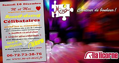 illustration de La Rochelle Sud : soirée pour les célibataires, speed dating et discothèque à Châtelaillon, samedi 10 décembre 2016