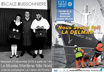 illustration de Le Musée Maritime de La Rochelle fête Noël et les vacances jusqu'au 30 décembre 2016 !