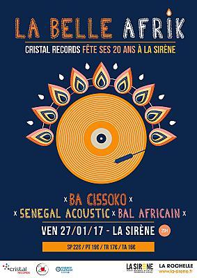 illustration de Cristal Records fête ses 20 ans à La Sirène