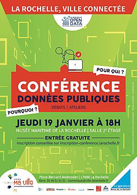 illustration de La Rochelle open data : conférence publique pré-hackathon, jeudi 19 janvier 2017