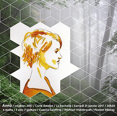 illustration de Anna à La Rochelle : création de Camille Geoffroy, Wilfried Hildebrandt et Florent Silloray, samedi 21 janvier 2017