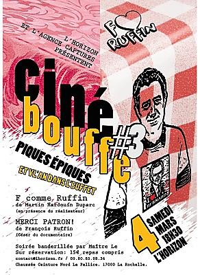 illustration de Ciné-bouffe à La Rochelle : autour de François Ruffin à L'Horizon, samedi 4 mars 2017