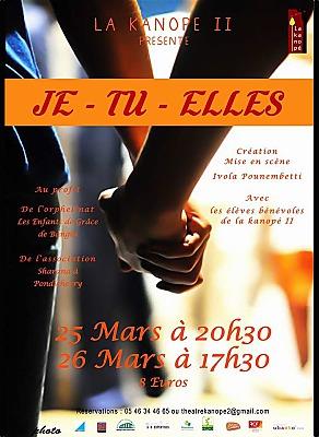 illustration de La Rochelle Agglo : solidarité et théâtre avec les élèves-comédiens de la Kanopé II à Lagord les 25 et 26 mars 2017