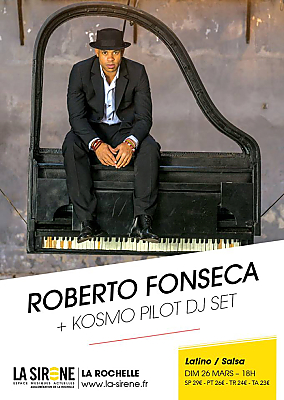 illustration de World latino à La Sirène : le pianiste cubain Roberto Fonseca à La Sirène, dimanche 26 mars 2017
