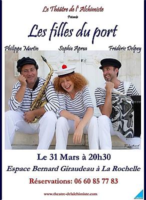 illustration de Spectacle musical à La Rochelle : Les filles du port, vendredi 31 mars 2017