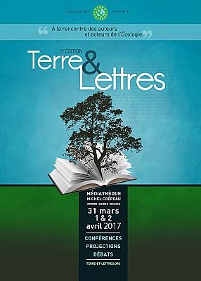 illustration de La Rochelle environnement : 8èmes rencontres Terre & Lettres du 31 mars au 2 avril 2017