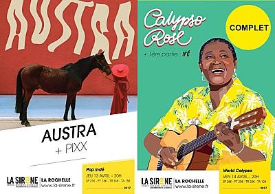 illustration de Electro-pop à La Rochelle : Austra & Pixx à La Sirène, jeudi 13 avril 2017