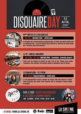 illustration de Disquaire Day à La Rochelle avec La Sirène et le Prao, rue Saint Nicolas, samedi 22 avril 10h-19h