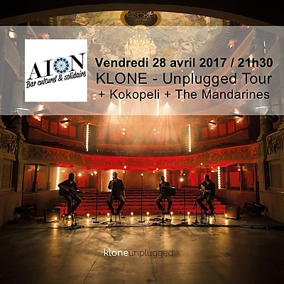 illustration de Concert métal intimiste à La Rochelle : Klone en version acoustique à l'Aiôn, vendredi 28 avril 2017