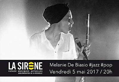 illustration de Jazz pop à La Rochelle : Melanie De Biasio à La Sirène, vendredi 5 mai 2017
