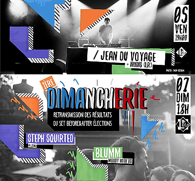 illustration de Live et Dj sets à L'Endroit - La Rochelle : Jean du Voyage le 05/05 et Moody with us dimanche 7 mai 2017