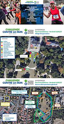 illustration de Action contre la faim à La Rochelle : la course des scolaires et le challenge entreprises, vendredi 12 mai 2017