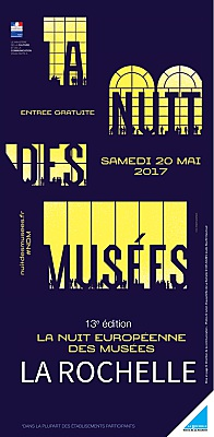 illustration de Nuit des musées à La Rochelle : les collections sous un angle inédit, samedi 20 mai 2017