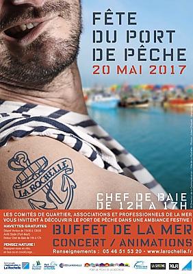 illustration de La Rochelle Chef de Baie : fête du port de pêche, samedi 20 mai 2017 de midi à 17h !