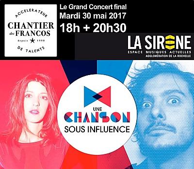 illustration de Grand concert final à La Rochelle : Une chanson sous influence avec Le Prince Miiaou et Laurent Lamarca, mardi 30 mai 2017