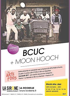 illustration de World, jazz, transe à La Rochelle : Le BCUC et Moon Hooch à la Sirène avec Les Arts Fous, vendredi 26 mai 2017