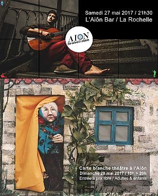 illustration de Ce week-end à l'Aiôn La Rochelle : Romtom en concert, samedi 27/05 et théâtre de marionnettes, dimanche 28 mai 2017