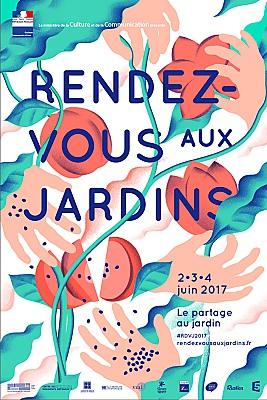 illustration de Rendez-vous aux jardins à La Rochelle les 2, 3 et 4 juin 2017