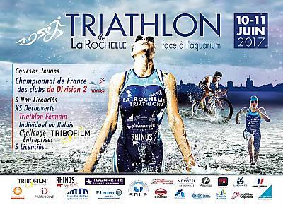 illustration de Triathlon de La Rochelle : rendez-vous côté vieux port, samedi 10 et dimanche 11 juin 2017