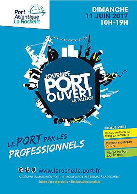 illustration de Port Atlantique La Rochelle : journée port ouvert, dimanche 11 juin 2017