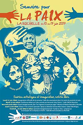 illustration de La Rochelle : Semaine pour la Paix du 10 au 17 juin 2017