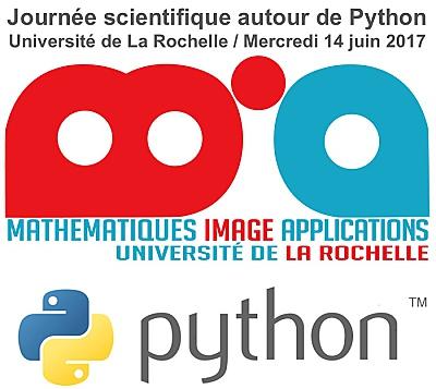 illustration de La Rochelle Université : journée scientifique autour de Python, mercredi 14 juin 2017