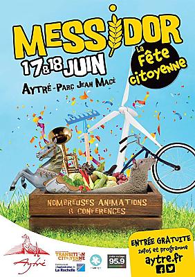 illustration de La Rochelle Agglo : Messidor fête la transition citoyenne et écologique à Aytré, samedi 17 et dimanche 18 juin 2017